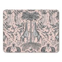 Buy the Jamida Emma J Shipley Kruger Pink Tablemats online at smithsofloughton.com
