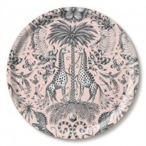Buy the Jamida Emma J Shipley Kruger Pink Tray 39cm online at smithsofloughton.com