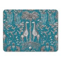 Buy the Jamida Emma J Shipley Kruger Turquoise Tablemats online at smithsofloughton.com