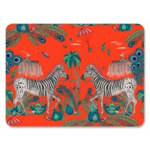 Buy the Jamida Emma J Shipley Lost World Red Tablemat online at smithsofloughton.com