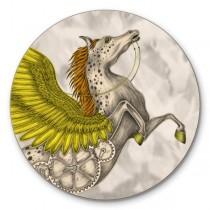 Buy the Jamida Emma J Shipley Pegasus Gold Coaster online at smithsofloughton.com