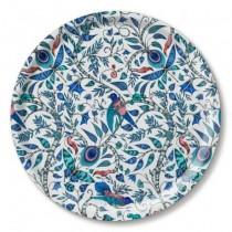 Buy the Jamida Emma J Shipley Rousseau Blue Round Drinks Tray online at smithsofloughton.com