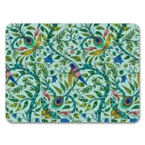 Buy the Jamida Emma J Shipley Rousseau Turquoise Placemat 29cm online at smithosloughton.com