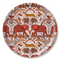 Buy the Jamida Emma J Shipley Zambezi Orange Round Drinks Tray online at smithsofloughton.com