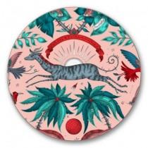 Buy the Jamida Emma J Shipley Zambezi Pink Coaster online at smithsofloughton.com