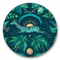 Buy the Jamida Emma J Shipley Zambezi Teal Coaster online at smithsofloughton.com