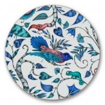 Buy the Jamida Emma Shipley Blue Rousseau coasters online at smithsofloughton.com
