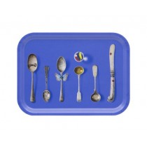 Buy the Jamida Michael Angove - Cutlery Cobalt Tray 27x20cm online at smithsofloughton.com