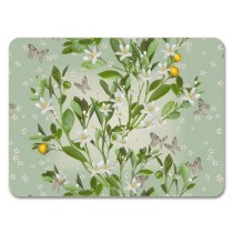 Buy the Jamida Michael Angove 38cm Orange Blossom Tablemat online at smithsofloughton.com