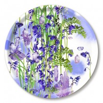 Buy the Jamida Michael Angove Bluebell Amethyst Tray 39cm online at smithsofloughton.com