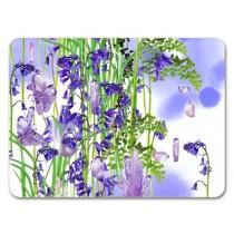Buy the Jamida Michael Angove Bluebell Placemat 29cm online at smithsofloughton.com