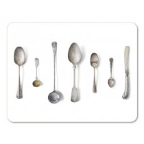 Buy the Jamida Michael Angove Cutlery White Placemat 29cm online at smithsofloughton.com