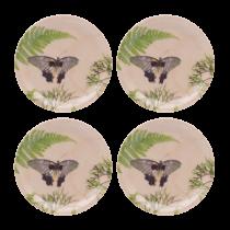 Buy the Jamida Michael Angove Naturel Dill 4pc Coaster Set online at smithsofloghton.com