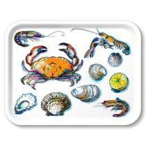 Buy the Jamida Michael Angove Seafood White Tray online at smithsofloughton.com