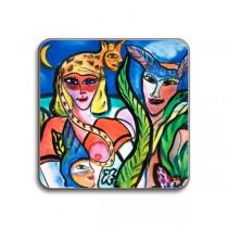 Buy the Jamida Ulrica Hydman Vallien Lustgården Coaster online at smithsofloughton.com