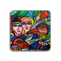 Buy the Jamida Ulrica Hydman Vallien Romance Coaster online at smithsofloughton.com