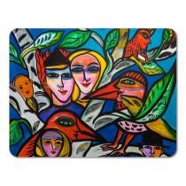 Buy the Jamida Ulrica Hydman Vallien Romance Table Place Mat 38x29cm online at smithsofloughton.com