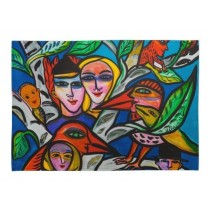 Buy the Jamida Ulrica Hydman Vallien Romance Tea Towel online at smithsofloughton.com