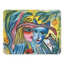 Buy the Jamida Ulrica Hydman Vallien Turturduvor Table Place Mat 38x29cm online at smithsofloughton.com