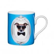 Buy the Kitchen Craft 80ml Porcelain Blue Dog Espresso Cup online at smithsofloughton.com