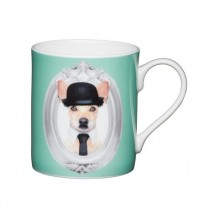 Buy the Kitchen Craft 80ml Porcelain Green Dog Espresso Cup online at smithsofloughton.com