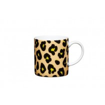 Buy the Kitchen Craft 80ml Porcelain Leopard Print Espresso Cup online at smithsofloughton.com