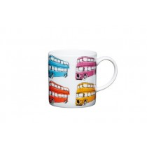 Buy the Kitchen Craft 80ml Porcelain London Bus Espresso Cup online at smithsofloughton.com