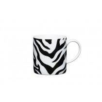 Buy the Kitchen Craft 80ml Porcelain Zebra Print Espresso Cup online at smithsofloughton.com