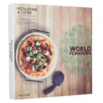 Buy the Kitchen Craft Pizza Stone Set online at smithsofloughton.com