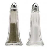 Buy the Kitchen Craft Set of 2 Glass Salt and Pepper Shakers online at smithsofloughton.com