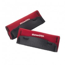 Buy the Kitchen Grip Loop Handle Holder 2 Piece 12cm Red online at smithsofloughton.com