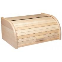 Buy the KitchenCraft Beech Wood Roll Top Bread Bin online at smithsofloughton.com