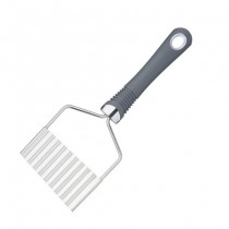 Buy the KitchenCraft Professional Crinkle Potato Chip Cutter with Soft-Grip Handle online at smithsofloughton.com