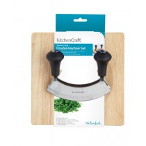 Buy the KitchenCraft Stainless Steel Hachoir Set online at smithsofloughton.com