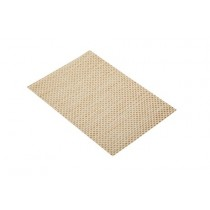Buy the KitchenCraft Woven Beige Weave Placemat online at smithsofloughton.com