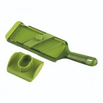 Buy the Kuhn Rikon Adjustable Mandoline in Green online at smithsofloughton.com