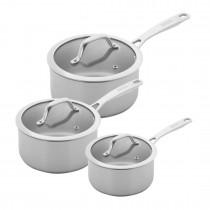 Buy the Kuhn Rikon Allround Saucepan Set online at smithsofloughton
