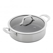 Buy the Kuhn Rikon Allround Serving Pan and Lid 24cm online at smithsofloughton.com