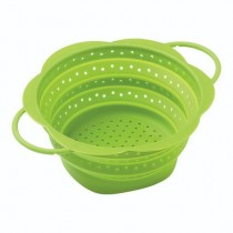 Buy the Kuhn Rikon Colander Collapsible Green 23cm at smithsofloughton.com