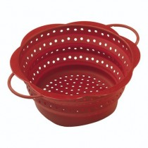 Buy the Kuhn Rikon Colander Collapsible Red 23cm at smithsofloughton.com