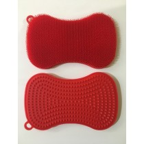 Buy the Kuhn Rikon Double Sided Stay Clean Scrubber Red online at smithsofloughton.com