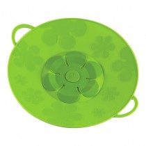 Buy the Kuhn Rikon Green 29.5cm Silicone Spill Stopper Multi-Function Pot Lid online at smithsofloughton.com