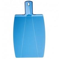 Buy the Kuhn Rikon Kochblume Foldable Cutting Board Blue online at smithsofloughton.com