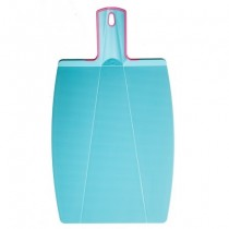 Buy the Kuhn Rikon Kochblume Foldable Cutting Board Turquoise online at smithsofloughton.com