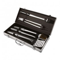 Buy the Kuhn Rikon Stainless Steel BBQ 5PC Tool Set With Case online at smithsofloughton.com