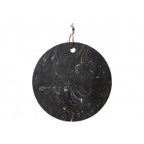 Buy the Ladelle Metta Black Stone 30cm Rnd Serving Board online at smithsofloughton.com