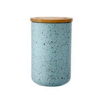 Buy the Ladelle Stak Soft Matt Duck Egg Speckled 17cm Canister online at smithsofloughton.com