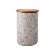 Buy the Ladelle Stak Soft Matt Stone Speckled 17cm Canister online at smithsofloughton.com