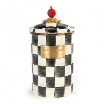 Buy the large MacKenzie-Childs Courtly Check Canister online at smithsofloughton.com