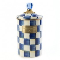 Buy the large MacKenzie-Childs Royal Check Canisters online at smithsofloughton.com